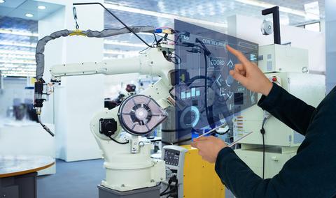 Digital Automation Factory Robotics